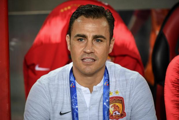 Fabio Cannavaro was appointed as the new China coach.
