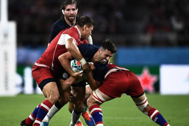 Hastings stars as Scots set up Japan quarter-final showdown
