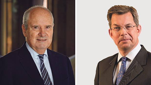 IoD 08:59 Club event on Thursday at EY Malta is being led by former HSBC CEO Mark Watkinson, right, and will include a panel that features Farsons Group chairman Louis Farrugia, left, and former PWC senior partner John Bonello, bottom.