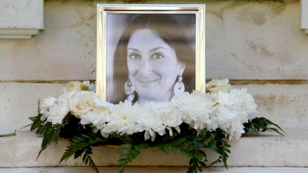 Ms Caruana Galizia was assassinated in mid-October.
