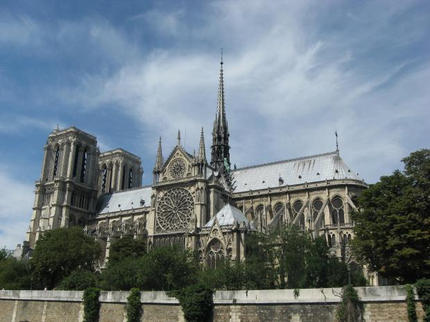 The cathedral attracted 13 million visitors a year. Photo: Wikipedia