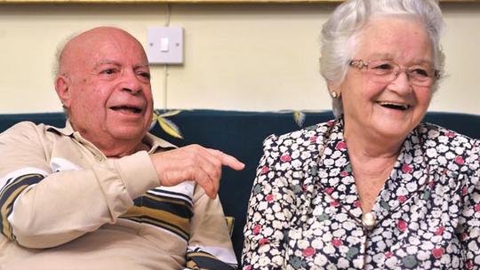 Archbishop Charles J Scicluna's parents.