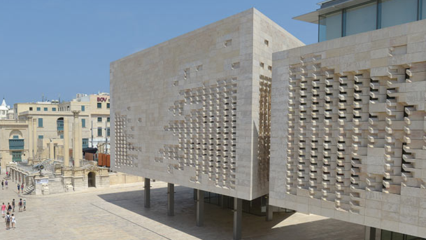Pn independence day activities moving to valletta for Renzo piano malta