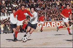 Malta vs England in 1971.