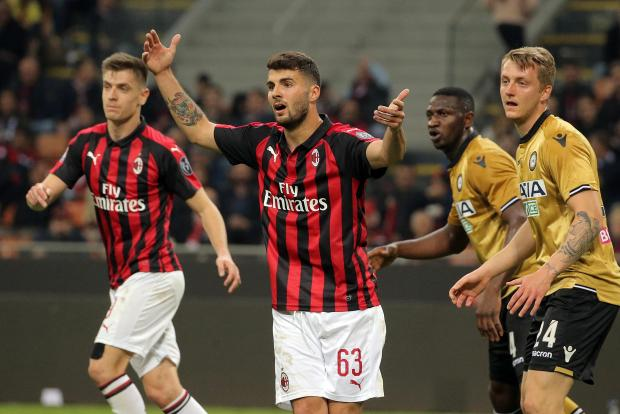 Milan were forced to settle for a 1-1 with Udinese at the San Siro.