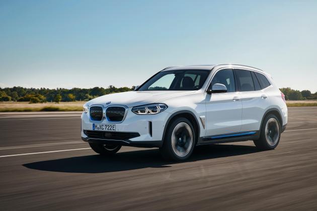 BMW iX3 arrives with 459-kilometres range