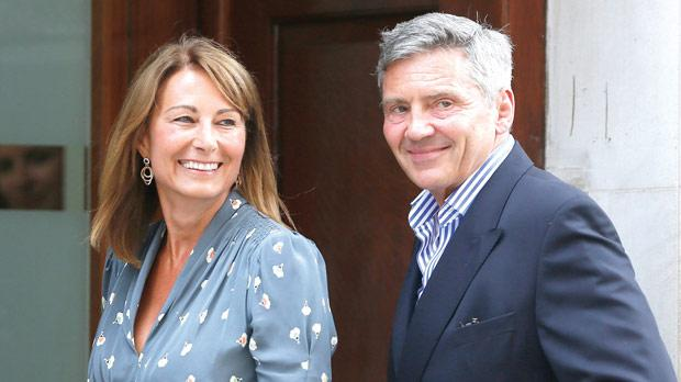 Kate Middleton's parents Michael and Carole. Photo: Reuters