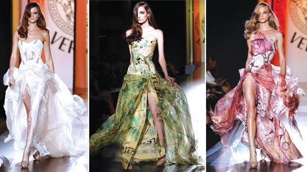 Versace opens paris haute couture ball - Mobeldesigner italien ...