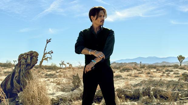 Johnny Depp is face behind new Dior fragrance for men Johnny Depp Cologne