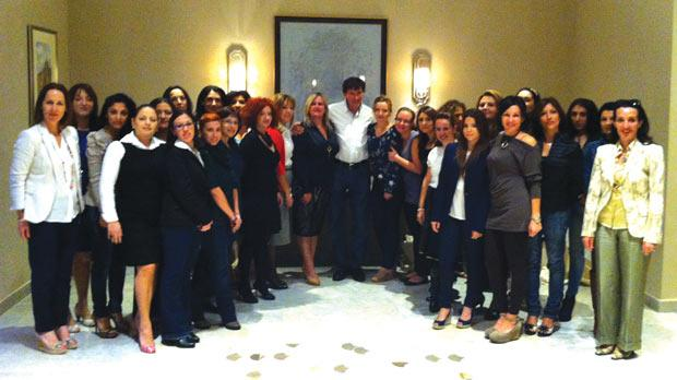 Skin Care Pioneer Addresses Seminar For Beauty Therapists