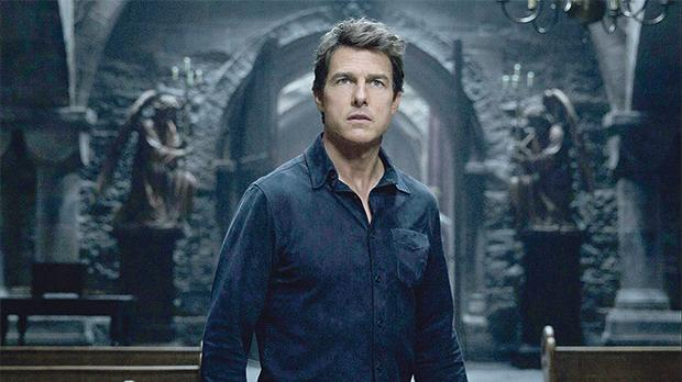 Tom Cruise in The Mummy.