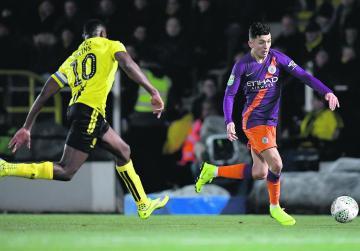 Guardiola relieved as City survive 'dangerous' Burton pitch