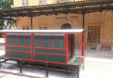 Restored railway carriage is back at Birkirkara station
