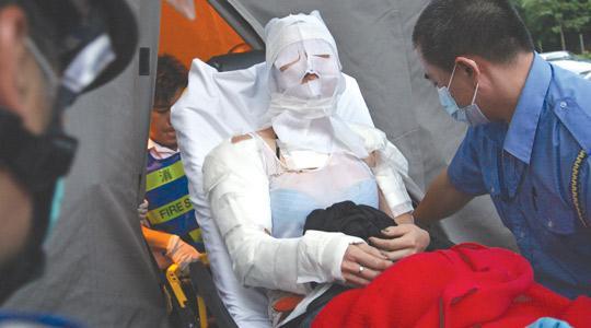 Ten hurt after fourth Hong Kong acid attack - report