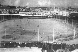 The Gzira National Stadium.