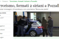 Two detained in Sicily on terrorism charges after arriving from Malta