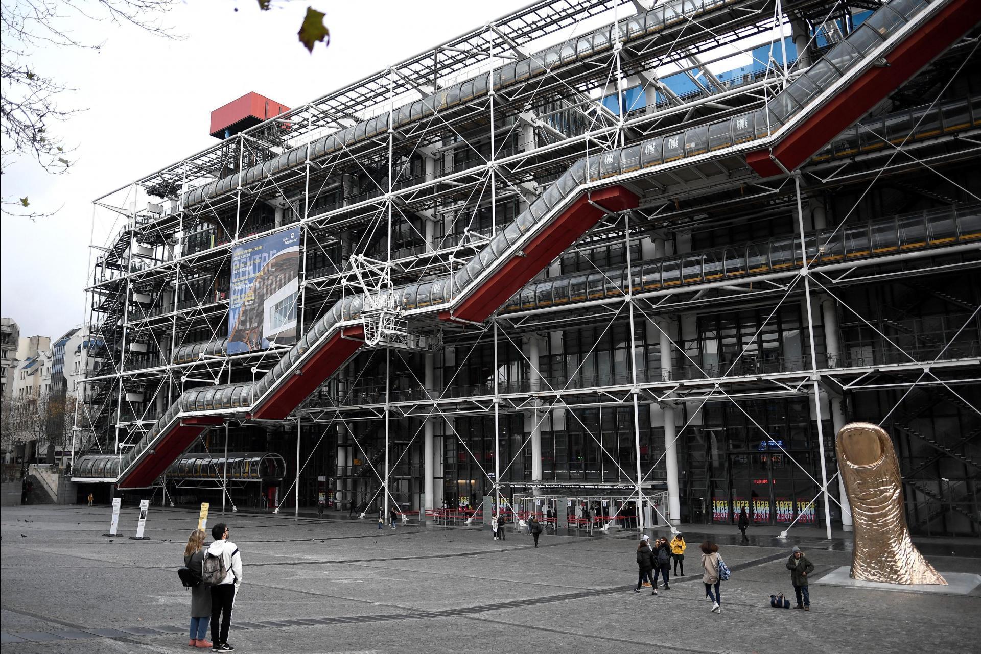The Pompidou Centre, Paris doubts the benefit of deaccessioning. Photo: Stephane De Sakutin/AFP