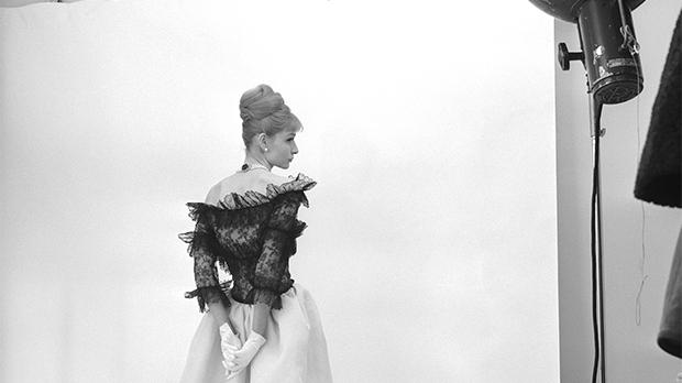 Evening dress, Cristóbal Balenciaga, Paris, 1962. photo: cecil beaton, 1971 © Cecil Beaton Studio Archive st Sotheby's.