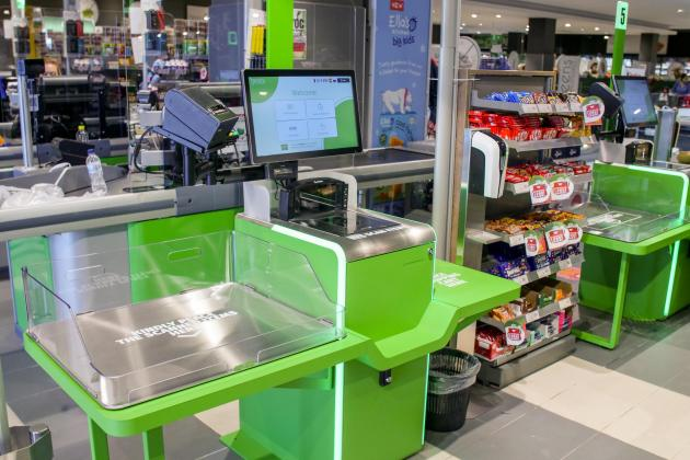 Supermarket introduces first self-checkout machines