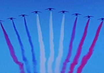 French flag gets revamped in Bastille Day air show mix-up