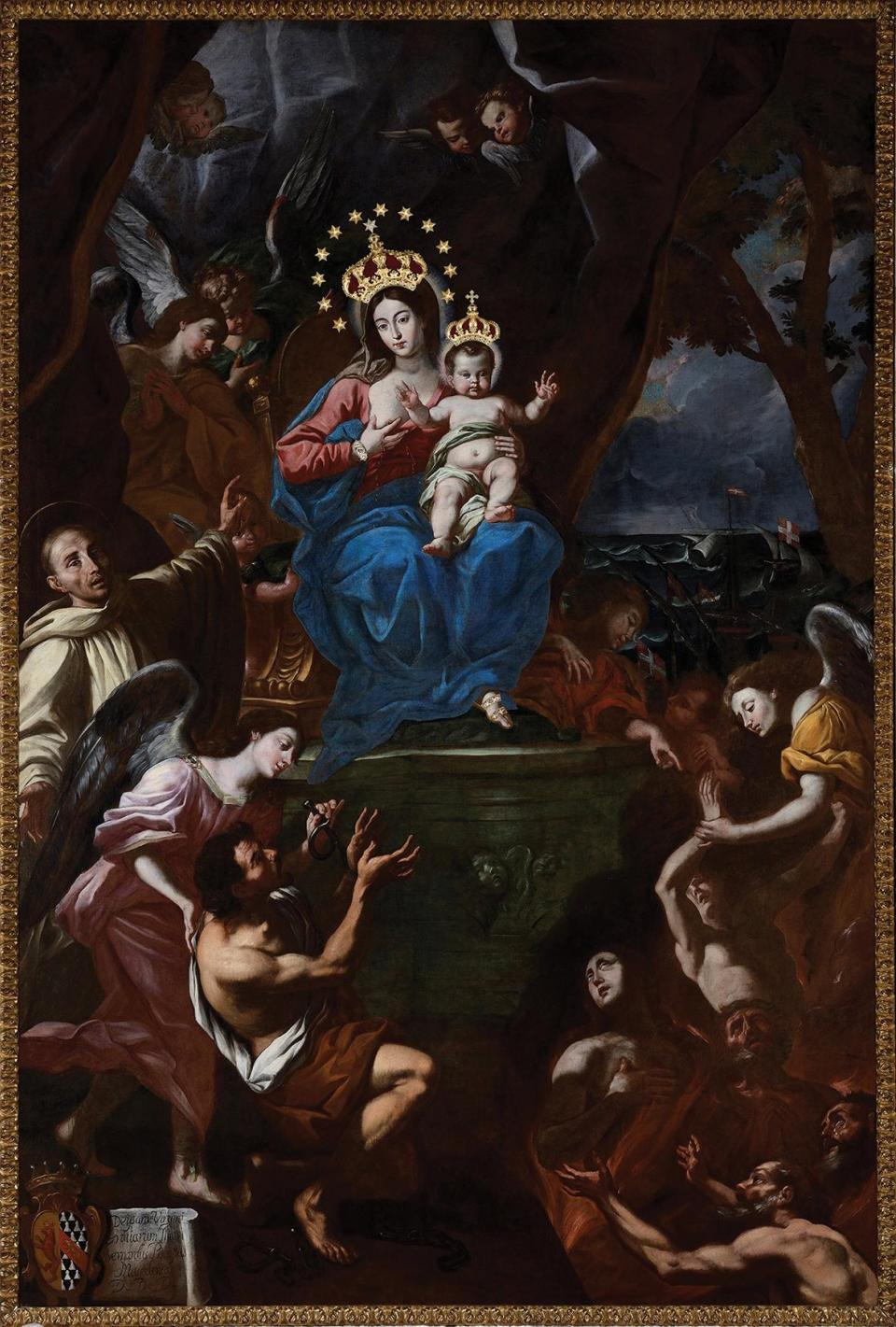 The Alessio Erardi main altarpiece.