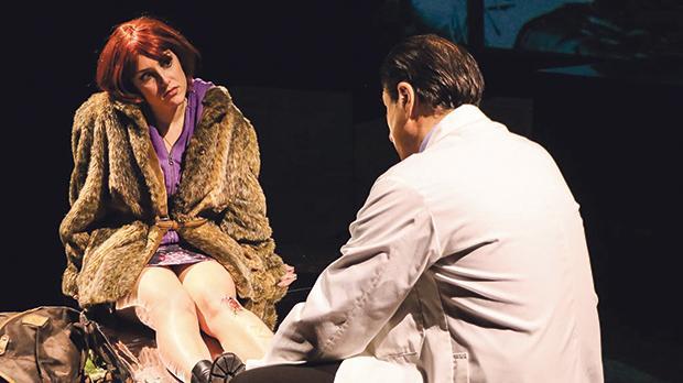 Nadia Vella and  Mikhail Basmadjian in Closer. Photo: Fran Rizzo