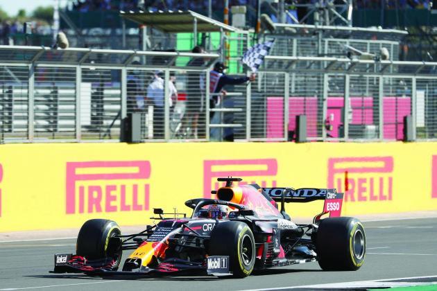 Verstappen wins first sprint race to claim British Grand Prix pole
