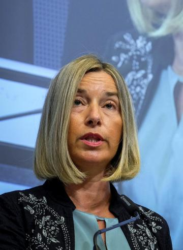 Federica Mogherini is likely to find more support in Brussels than in her native Italy. Photo: Reuters