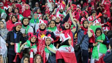 Watch: Iranian women attend football game in Tehran, a rare occurrence