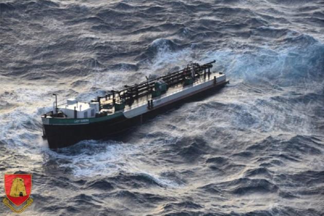 Ship splits in two in Maltese waters