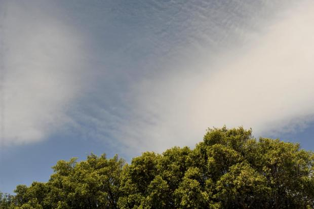 The sky over Malta on May 2. Photo: Chris Sant Fournier