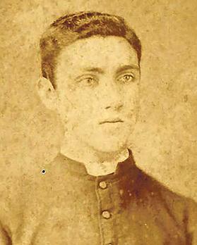 Luigi Vella as a seminarian.