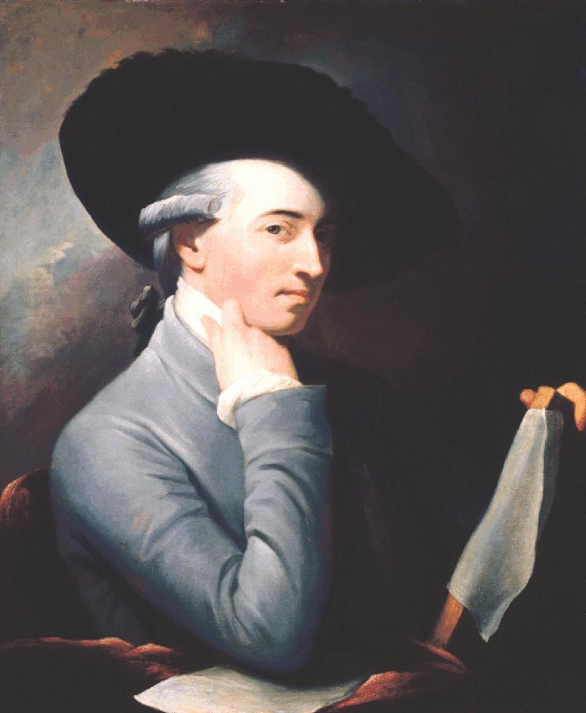 Benjamin West, self-portrait, c. 1763