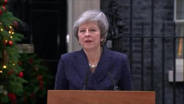 Ahead of confidence vote, PM May vows to fight on, warning Brexit is in peril