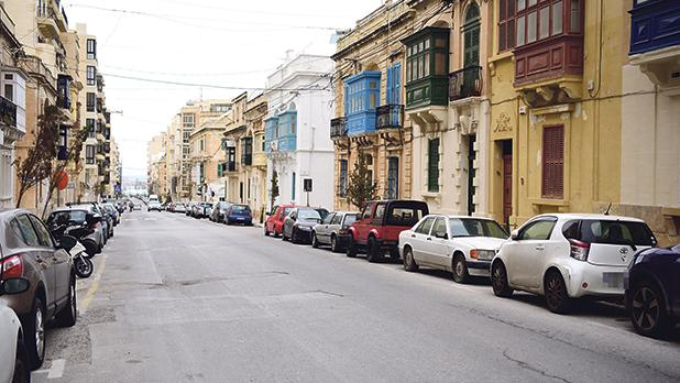 The timed-parking scheme in Sliema has been suspended since 2013. Photo: Mark Zammit Cordina