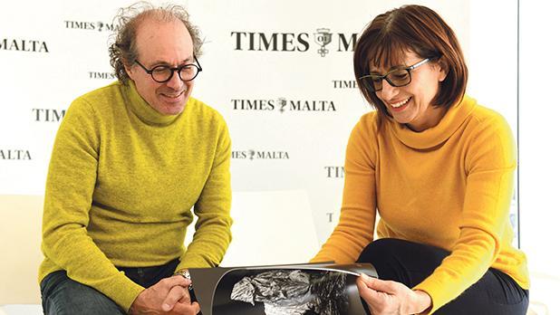 Alex Attard and Joan Abela. Photo: Matthew Mirabelli