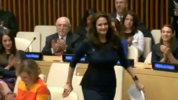 Wonder woman named special UN ambassador