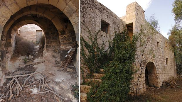 The Cagliares house in the limits of Ta' Xewxa lies in ruins. Photos: Matthew Mirabelli