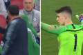 Watch: Chelsea's Sarri furious as goalkeeper Kepa overrules his own manager