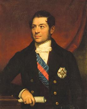 Sir Giuseppe Maria de Piro, who was granted the title of Honorary Knight Grand Cross. Photo: Casa Rocca Piccola Collection