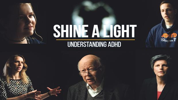 Some of the protagonists of the new short film Shine a light – understanding ADHD, launched on October 31.