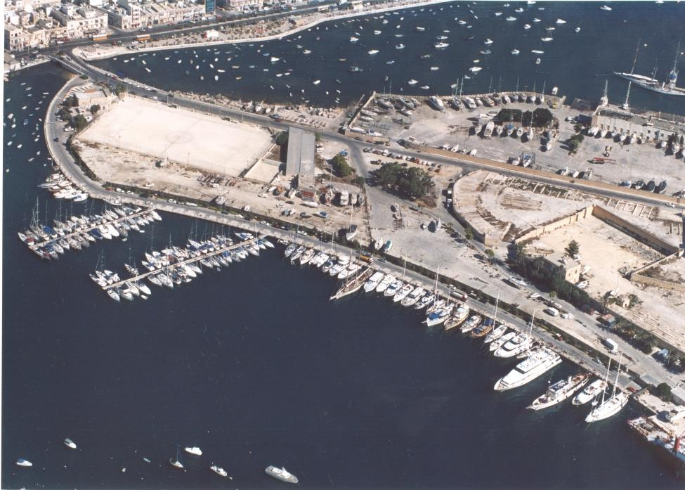 MIDI said this area previously served as a football pitch and a boatyard and not a bird sanctuary as alleged by the FAA. Photo: MIDI