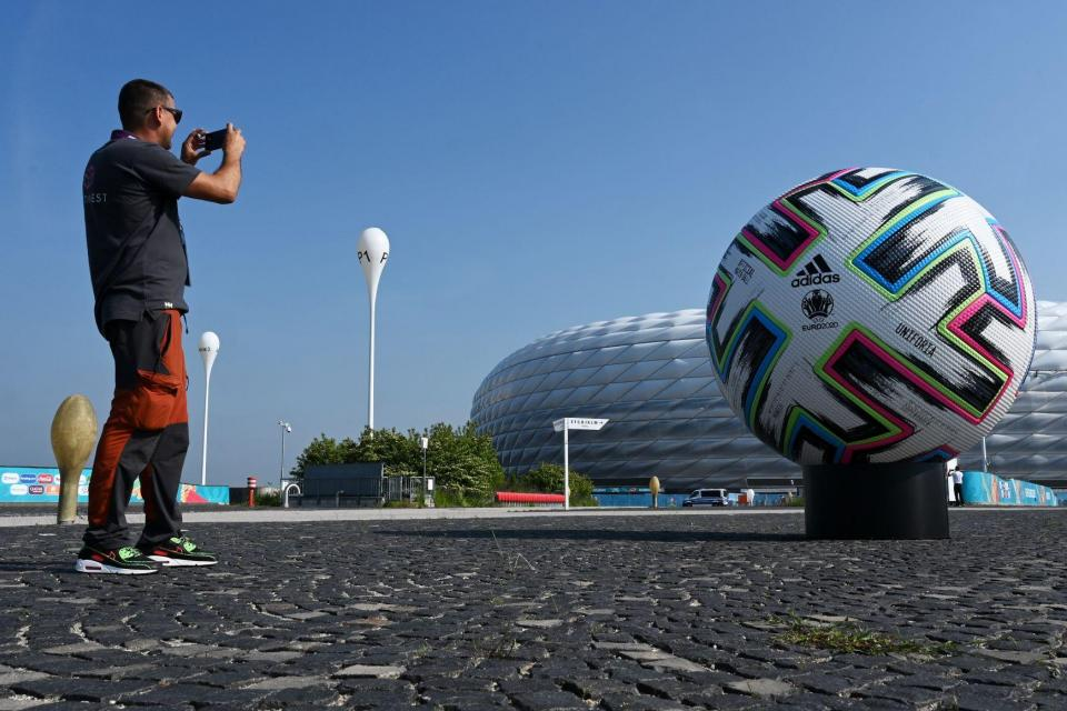 Adidas expects the Olympics and the upcoming European and American football seasons to boost its sales. Photo: Christof Stache / AFP