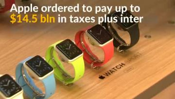 EU orders Apple to pay up to €13 billion tax to Ireland