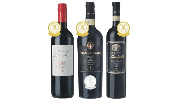 Three gold medals for Delicata reds - timesofmalta.com