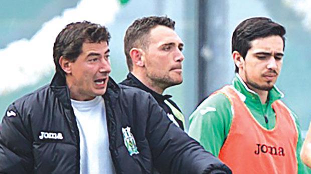 Floriana FC president Riccardo Gaucci (left) made the contacts for Igor Coronado (right) to join Trapani. Photo: PaulZammit Cutajar