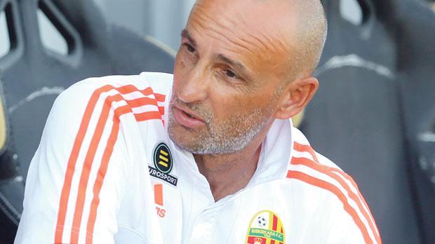 Birkirkara coach Drazen Bezek.