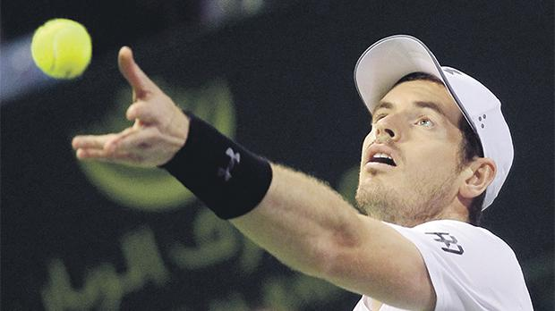 Andy Murray has taken a lot of positives from his defeat to Novak Djokovic in Doha.