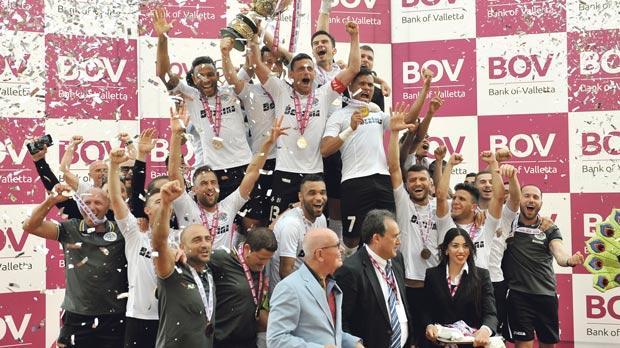 Champions Hibernians will represent Malta in the Champions League preliminary rounds. PHOTO: CHRIS SANT FOURNIER.