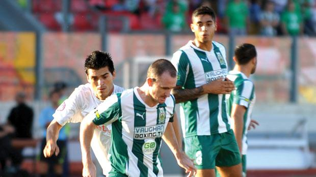 Francis Jeffers (right) quit Floriana after only two appearances.
